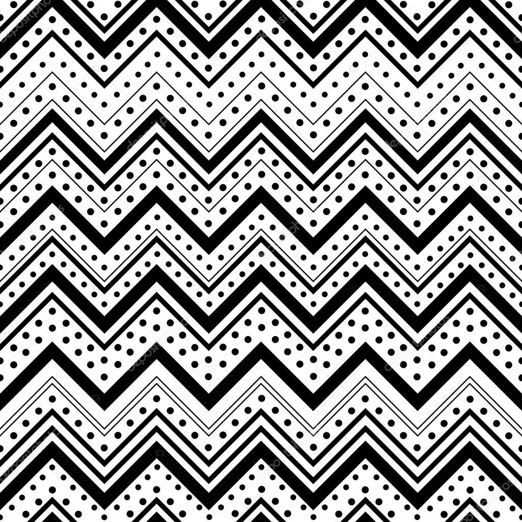 Patrones de lineas y puntos | zig zag de patrones sin fisuras con ...