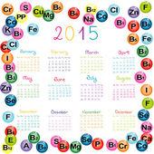 2015 kalendář s vitamíny a minerály