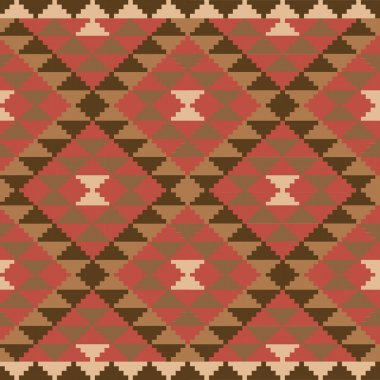 Ethnic carpet design