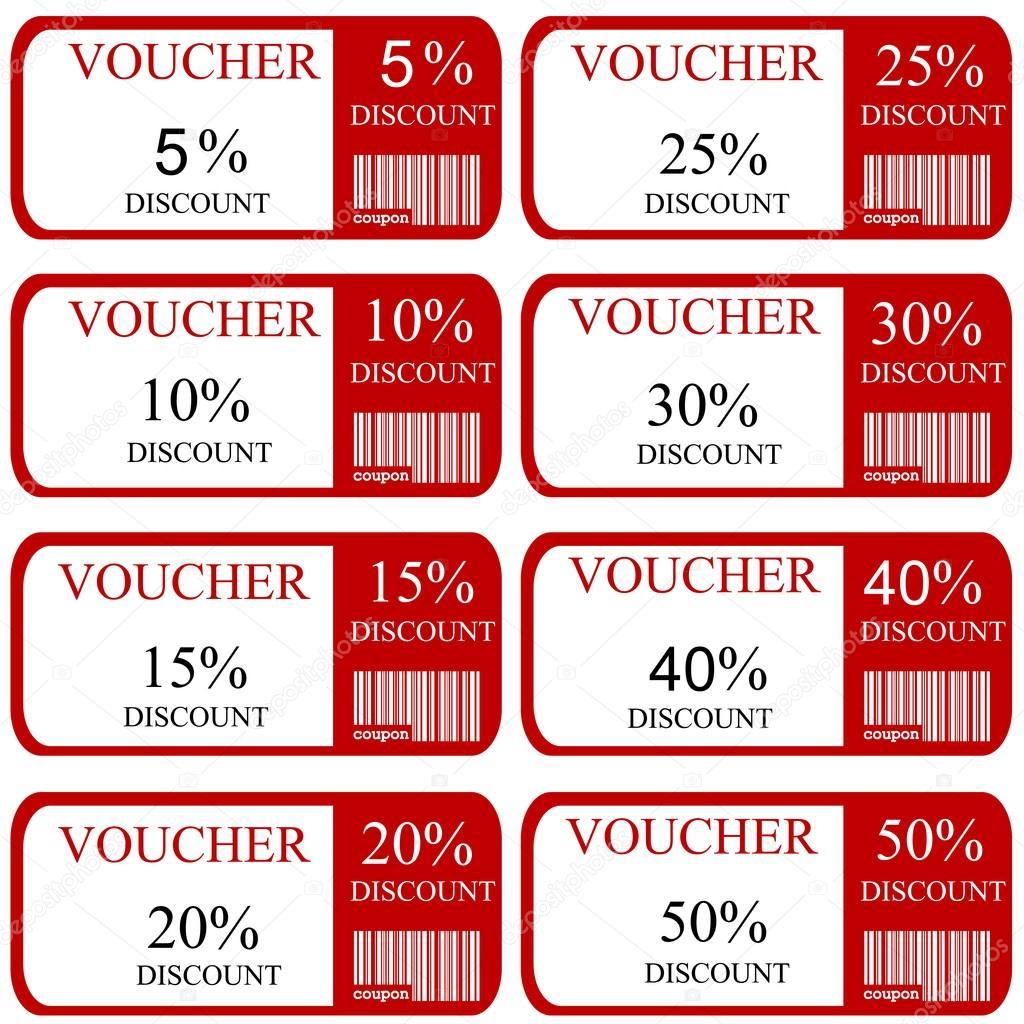 512d1ed54 Promoção cupons de desconto — Vetores de Stock © hibrida13 #73502667