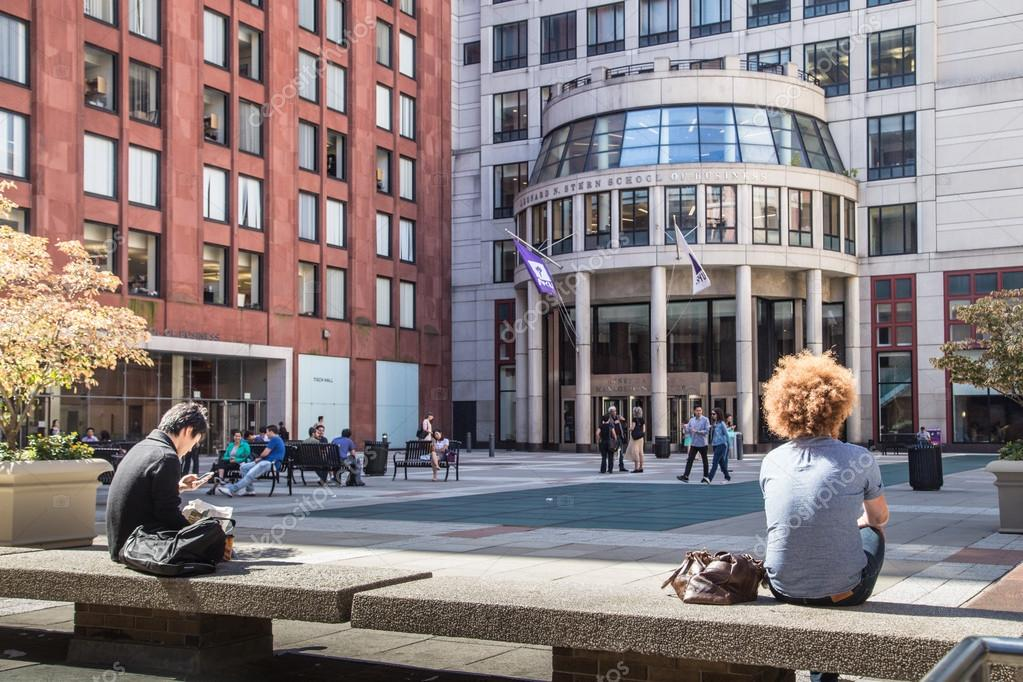 New York University Nyc Nyu U2014 Fotografia De Stock