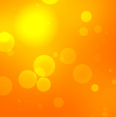 blurred orange background with concentric outlines