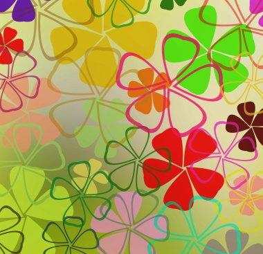 """Картина, постер, плакат, фотообои """"цветы абстрактный фон постеры цветы картины сирень города лилии"""", артикул 52934639"""