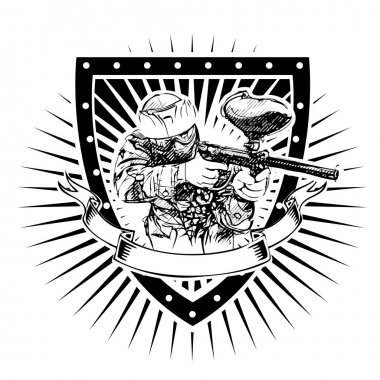Paintball shield