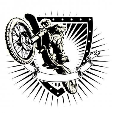 Motocross shield