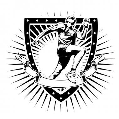 running shield