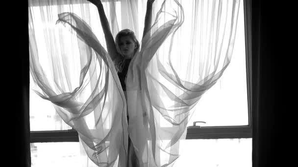 hezká ženská silueta