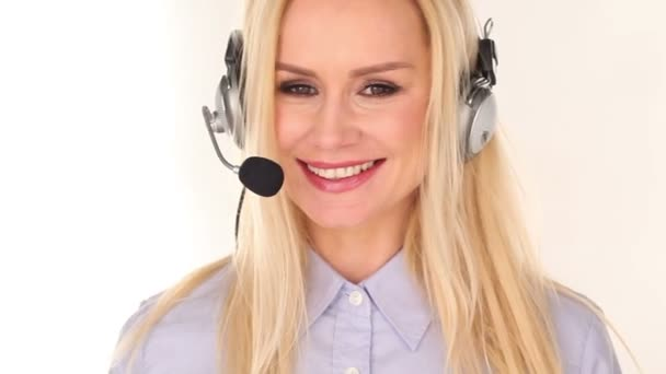 Young woman customer service advisor
