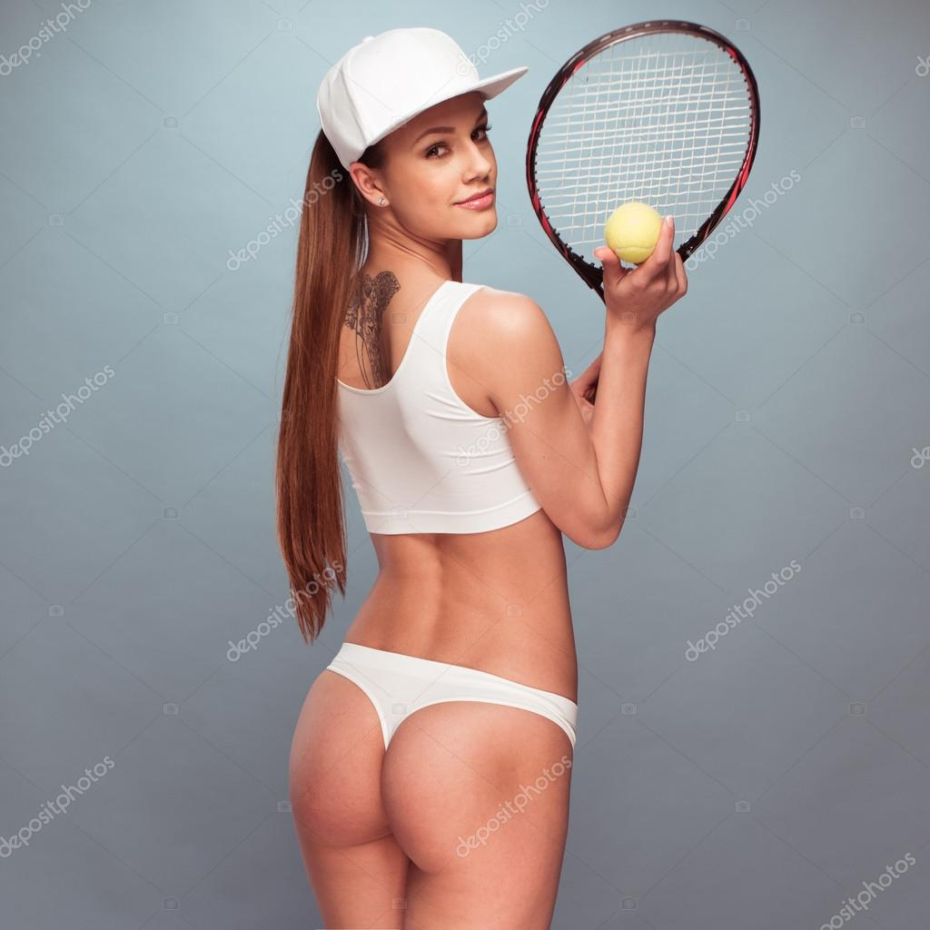 image Sexy tennis players doing groupsex in tennis court