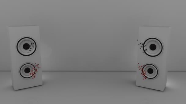 3D-s animáció egy DNS-t a szürke