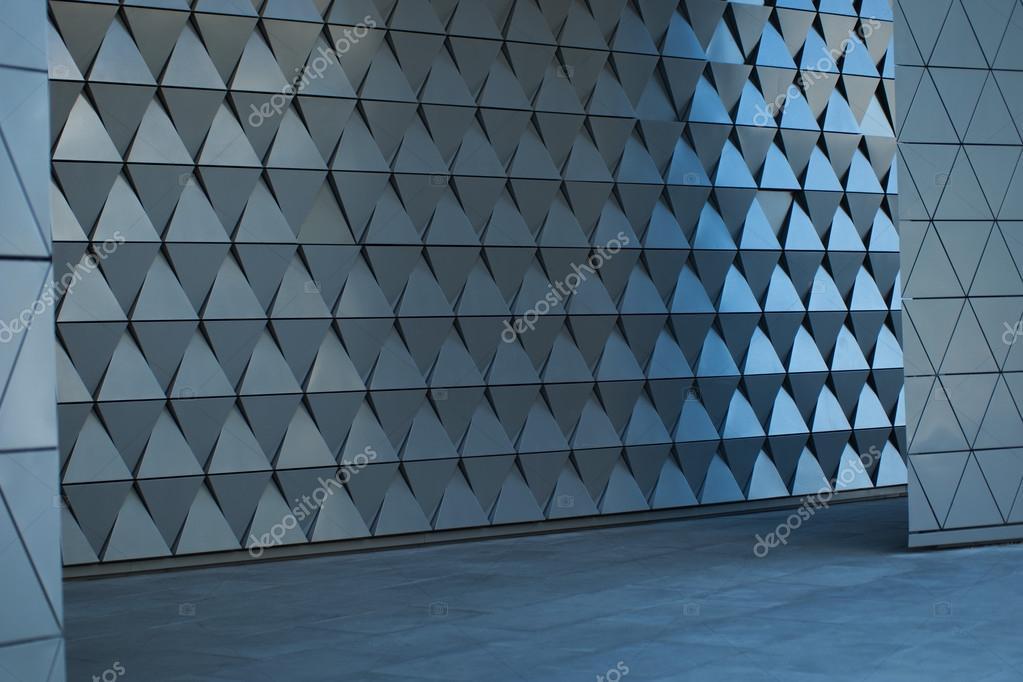 빈 로비에서 건축 벽 디자인 — 스톡 사진 © nelka7812 #83130770