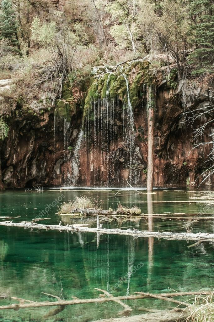 Hanging Lake Glenwood Springs Colorado Stock Photo Nelka7812