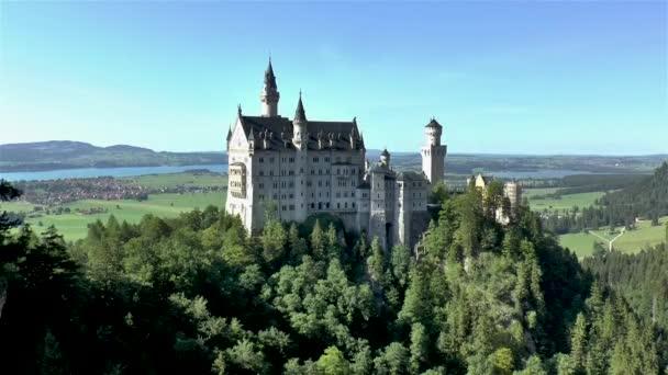 Neuschwanstein kastély, Bajorország, Németország.