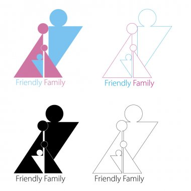 Family of 4 person