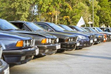 Old-cars BMW 5-series, 6-series