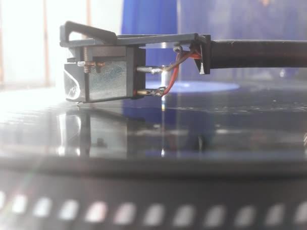 régi vintage gramofon