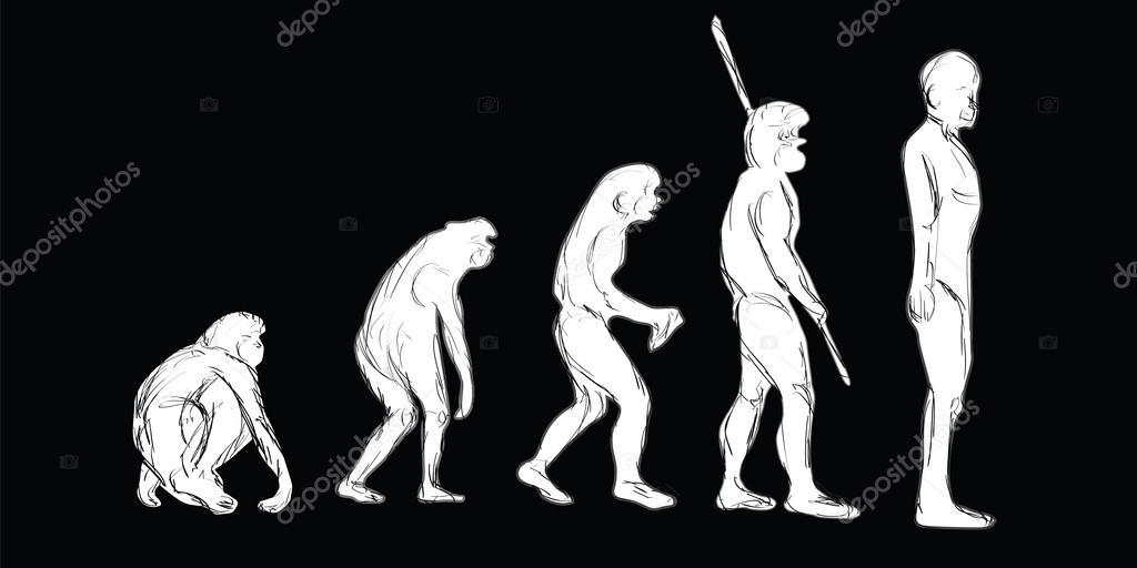Что вы меня преследуете картинка эволюция