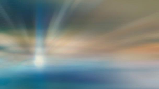Krásné abstraktní pozadí v modrých tónech představující rychlost a činnost.Abstraktní pohled na vánoční světla