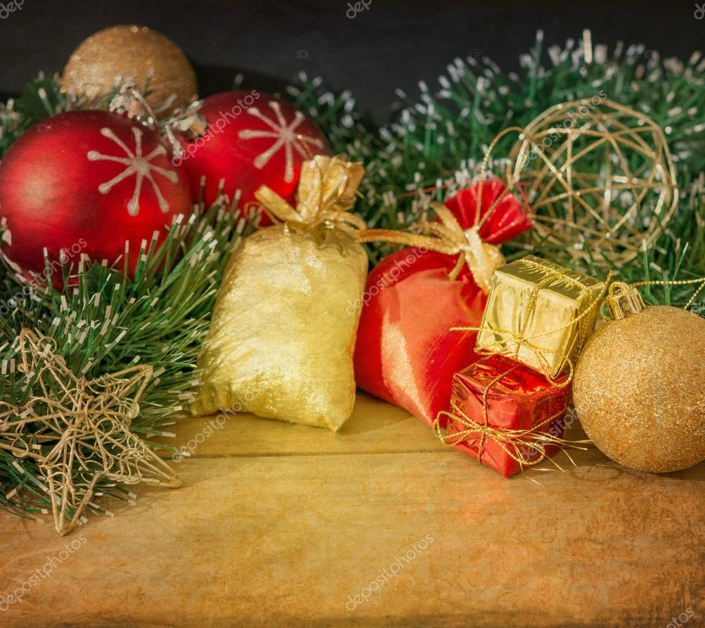 Old fashioned christmas decoration