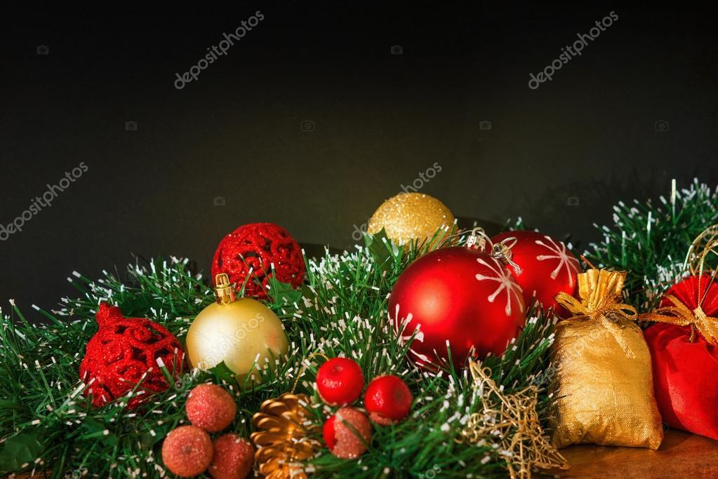 Altmodische Weihnachtsschmuck — Stockfoto © ilolab #57152235