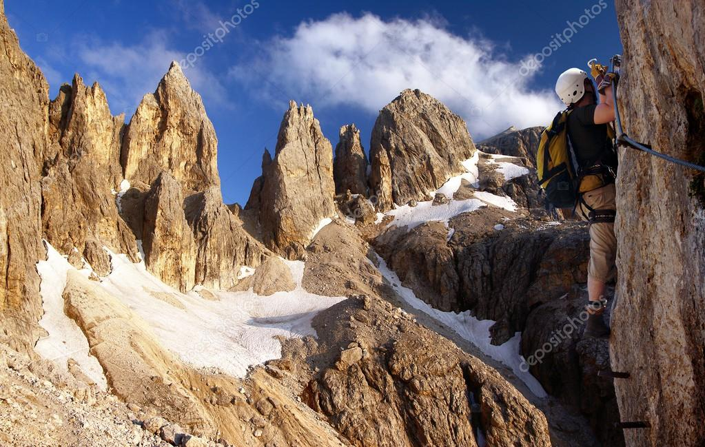 Klettersteig Italien : Via ferrata dell amicizia klettersteig italien gardasee youtube