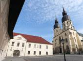 Fotografie historické město Trnava, překrásné město na Slovensku