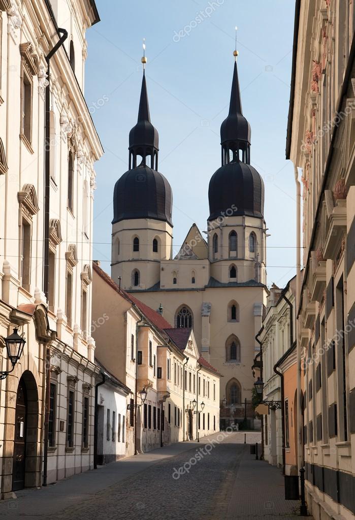 歴史的な町トルナヴァ、スロバキ...