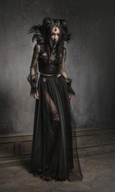 woman in fantasy costume