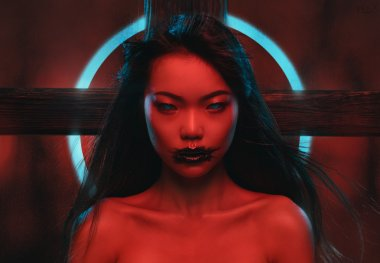 scary hell girl