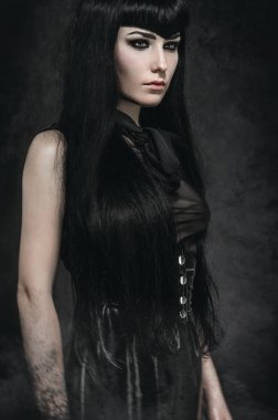 Portrait of gothic woman