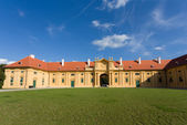 Photo Lednice Castle in South Moravia in the Czech Republic