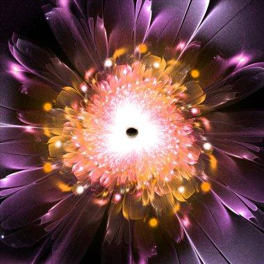 """Картина, постер, плакат, фотообои """"beautiful abstract background with fractal elements"""", артикул 436257188"""
