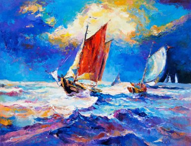 Ocean and boats