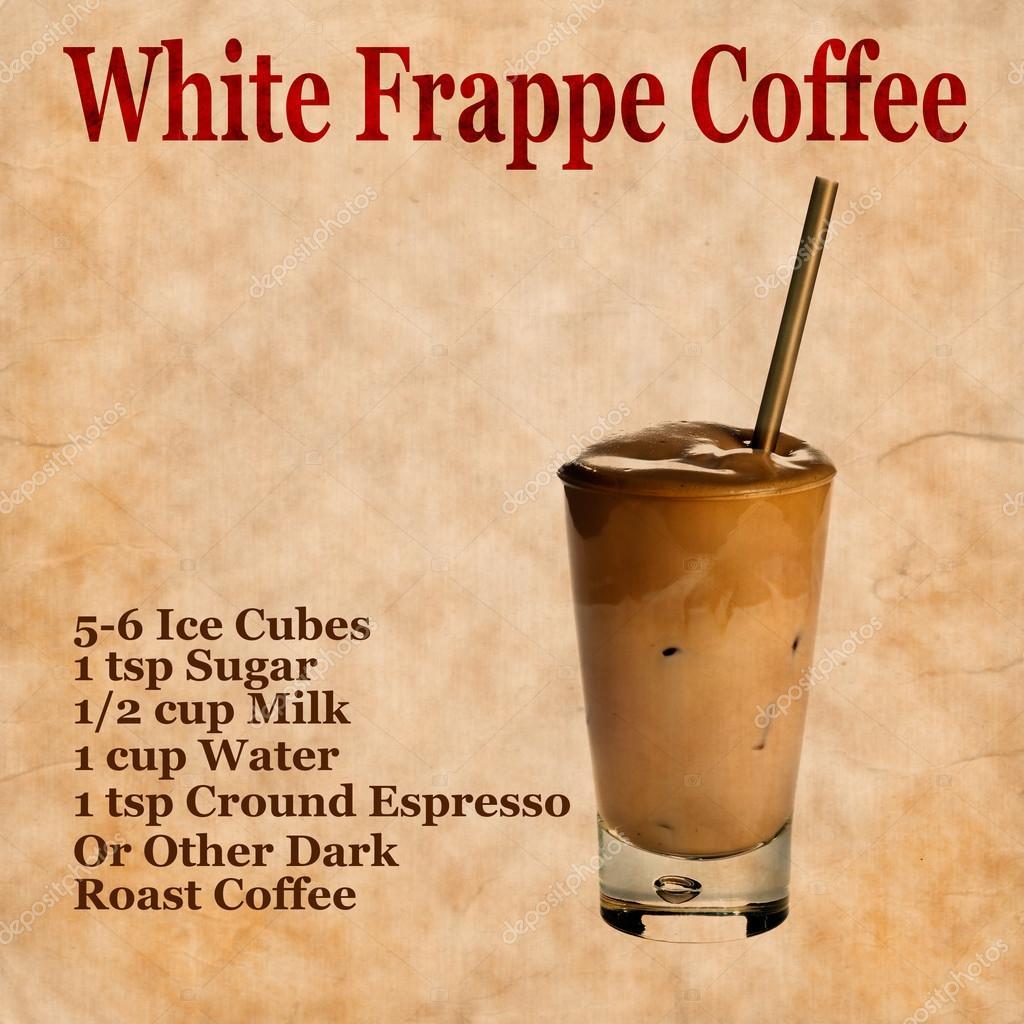 kaffe frappe recept