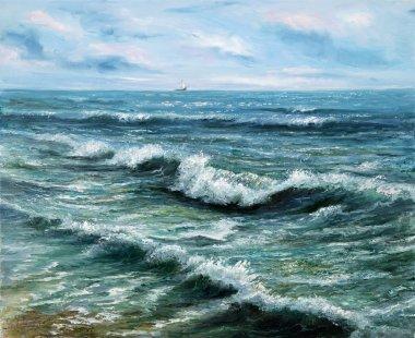 Ocean shore view