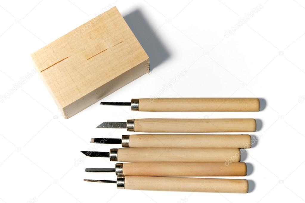 Utensili Per Lavorare Il Legno : Utensili per lavorare il legno con tiglio u foto stock sorsillo