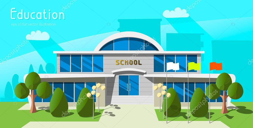 Edificio De La Escuela De