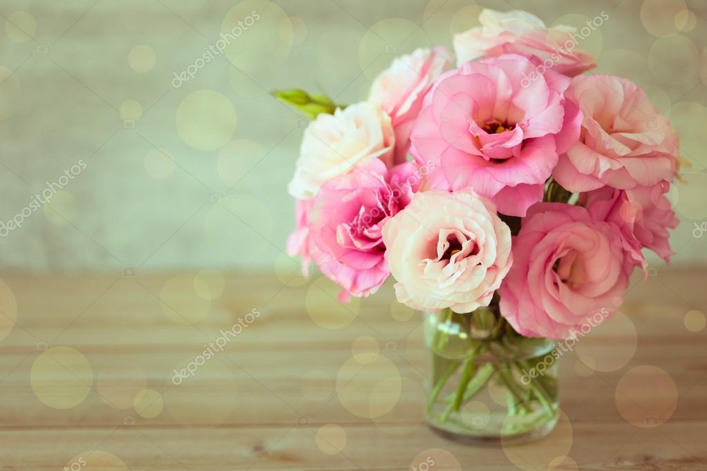 Rose flowers bouquet - vintage style — Stock Photo © a_taiga #68260569