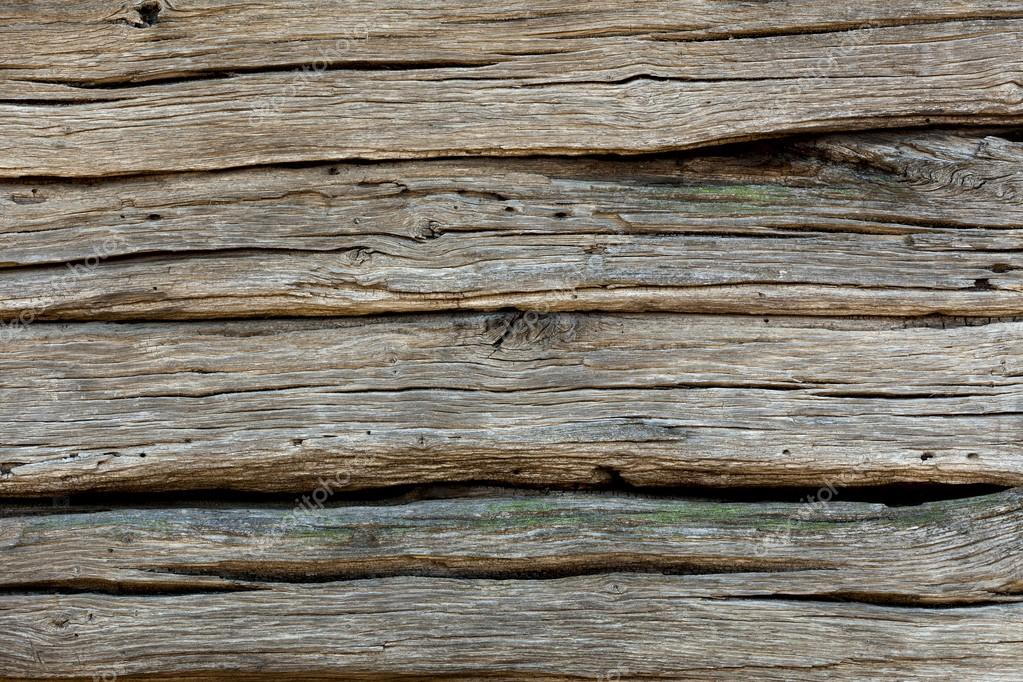 Background of Old Weathered wooden texture - more than 100 years