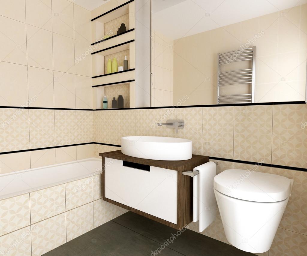 Interno del bagno moderno foto stock zuzulicea 108586568 - Bagno moderno foto ...
