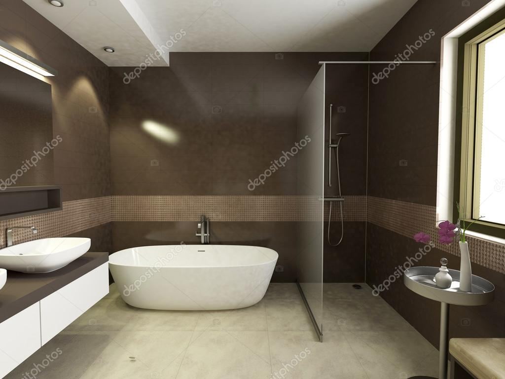 Nowoczesne azienki wn trza zdj cie stockowe zuzulicea for Bathroom interior design photo gallery