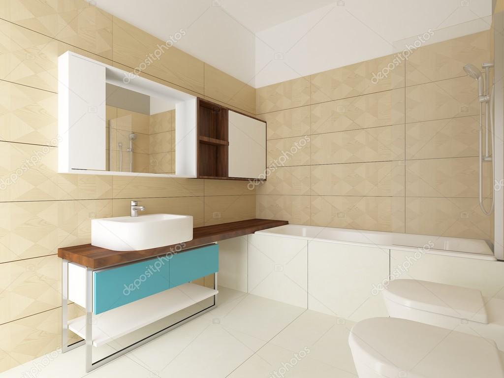 Arredo bagno moderno foto stock zuzulicea 77528550 - Foto arredo bagno moderno ...