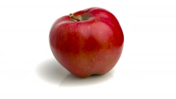 piros finom alma elszigetelt fehér