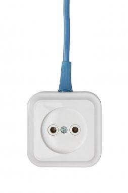 Outlet isolated on white