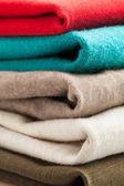 Barevné oblečení zásobník
