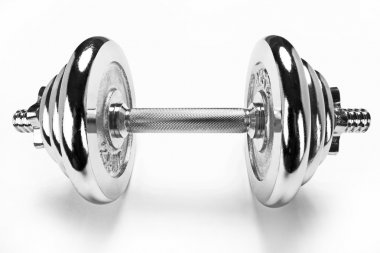 The dumbbell, sport life concept