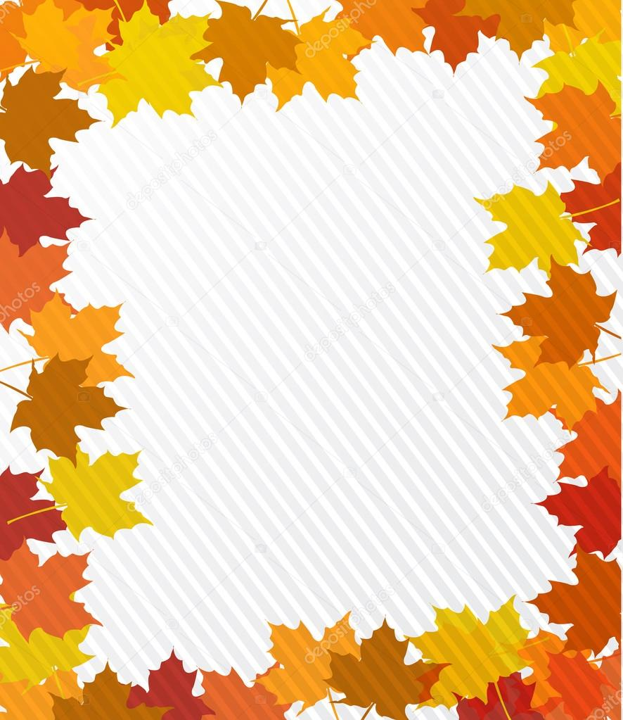 Leaves Border Illustration Design Stock Photo C Alexmillos 56109747