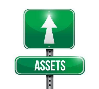 assets street sign illustration design