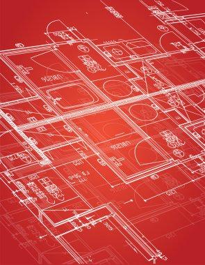 blueprint illustration design