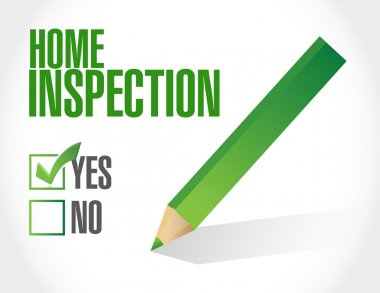 home inspection check list illustration